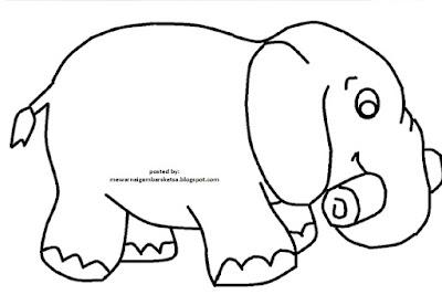 Sketsa Gambar Gajah Sederhana Auto Electrical Wiring Diagram