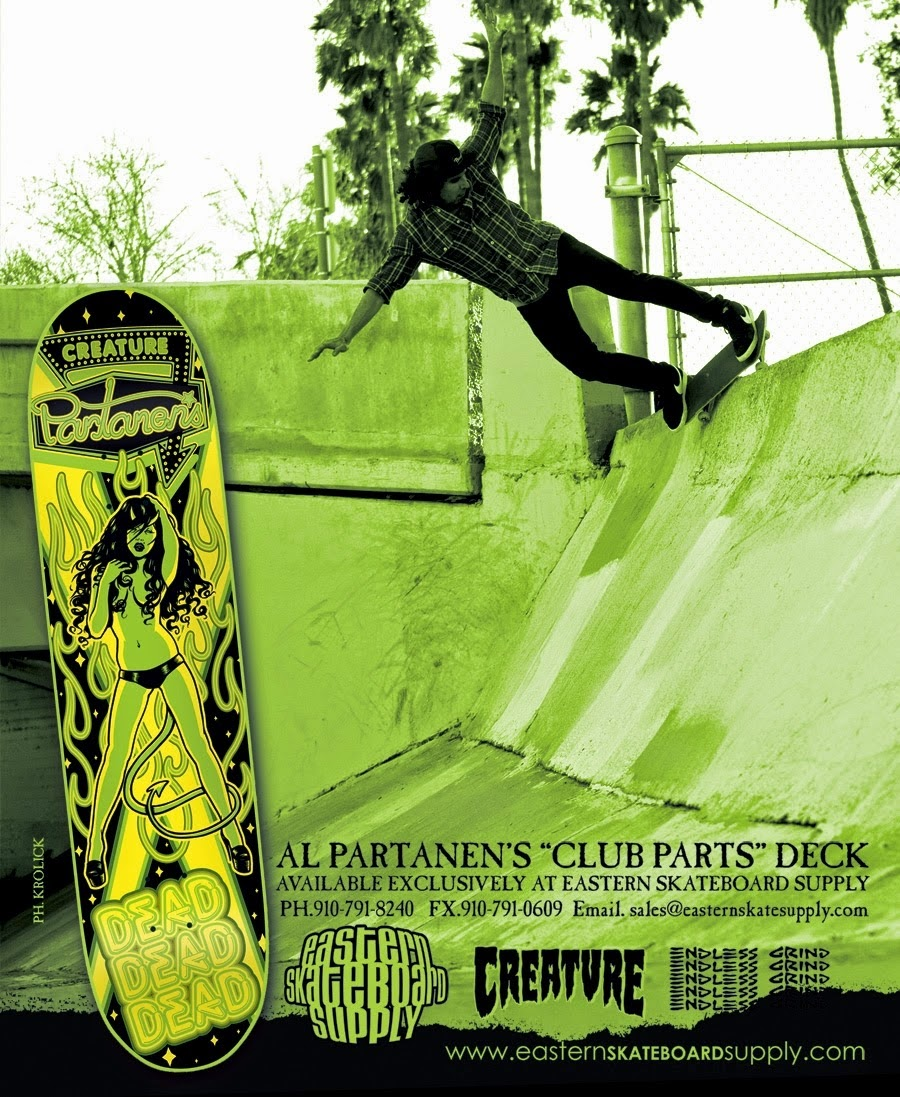 Creature Skateboards - Skate Destroy From U$AHell