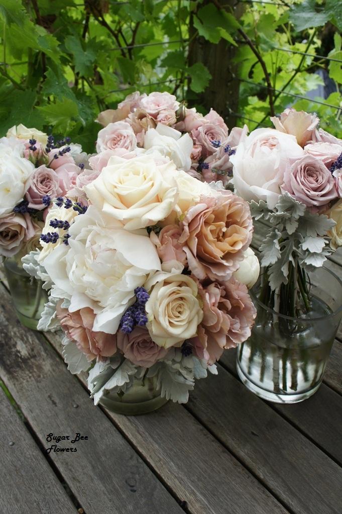 Sugar Bee Flowers: Vintage Wedding Flowers At Quat Quatta