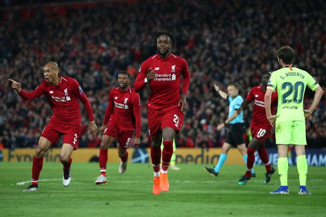 Miracle at Anfield as Liverpool edge Barcelona for UEFA Champions League final