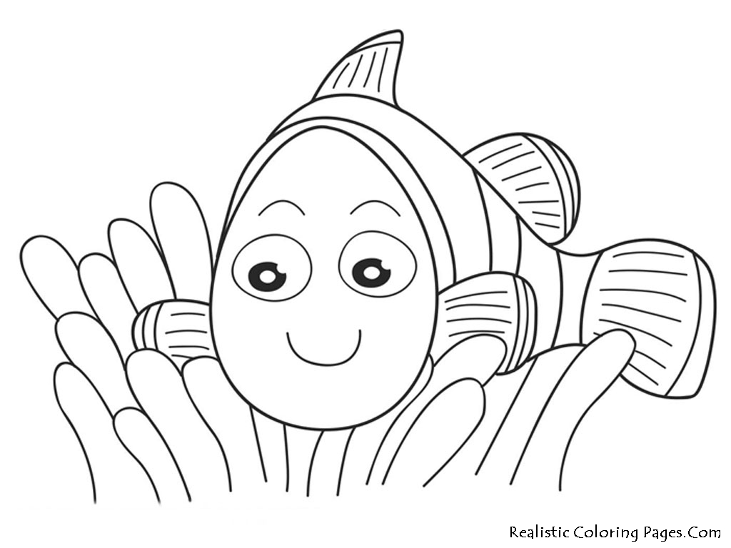 Nemo Fish Coloring Pages - Eskayalitim