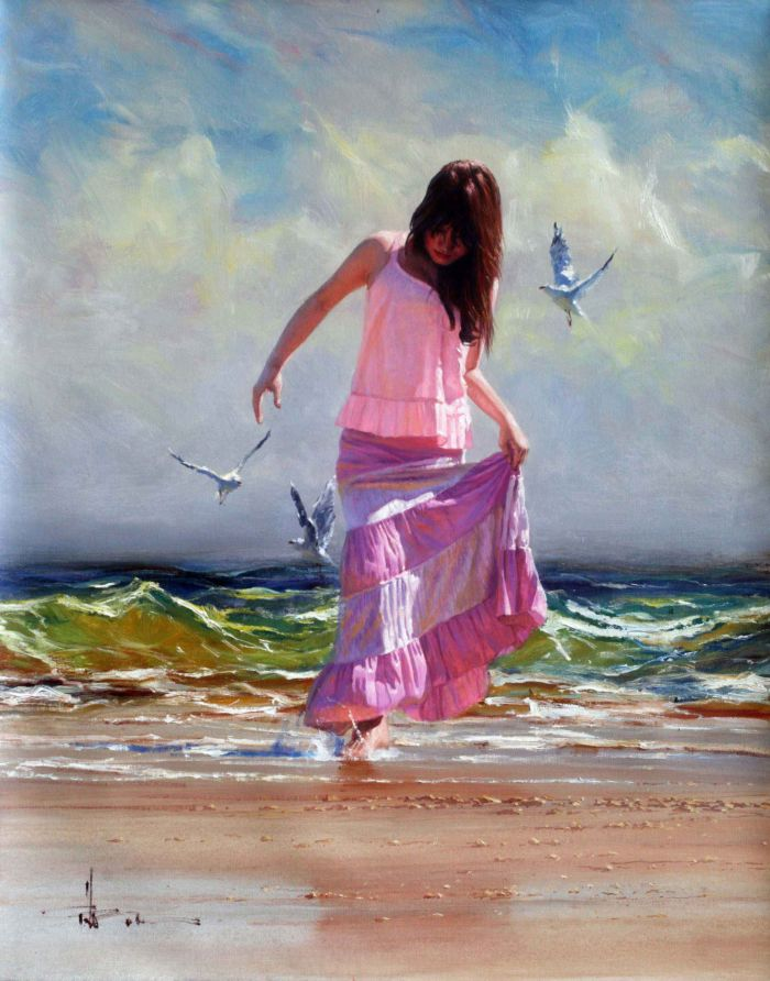 Robert Hagan 1947 | Australian Plein-air Impressionist painter