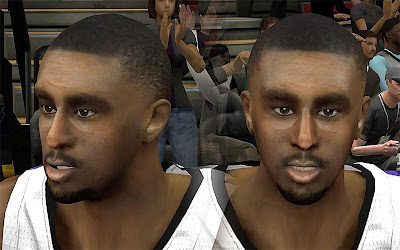 NBA 2K13 Patrick Patterson Cyberface Patch
