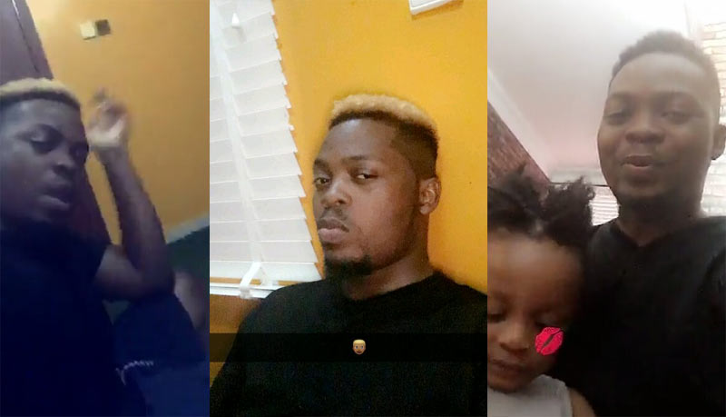 Olamide debuts blonde hairstyle in Snapchat video