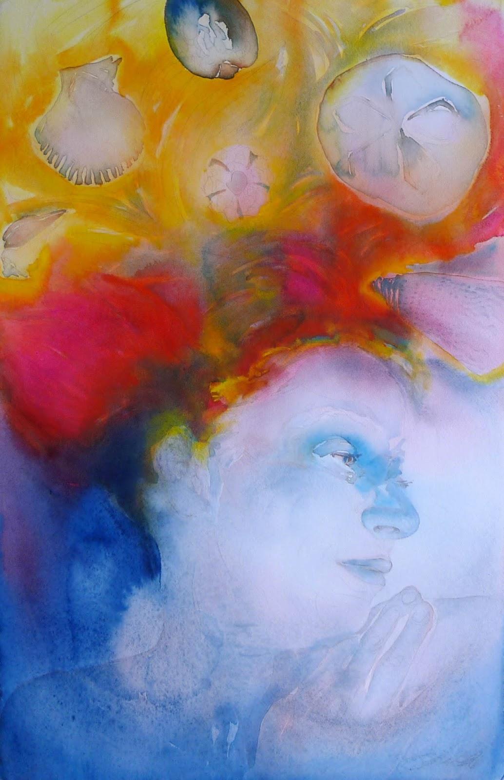 Watercolor artist magazine palm coast fl - I Dream In Color Watercolor