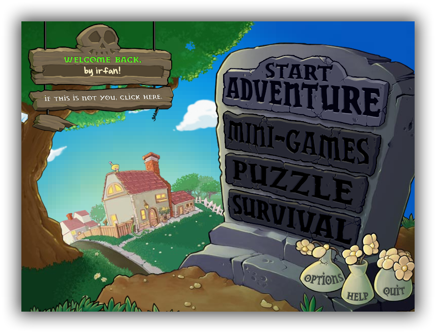 Plants vs. Zombies - Katılımsız Oyun
