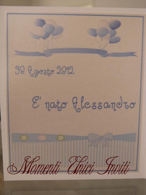 IMG_4855 Biglietto nascita e invito al battesimo bimboBattesimo Biglietti Nascita