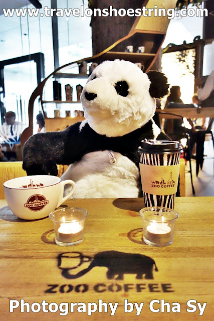 ZOO COFFEE, Mr. Panda, Cafe, Cofee shop,TRAVELONSHOESTRING, YUMMY FOOD, yummytales, KOREA, KOREA ZOO COFFEE