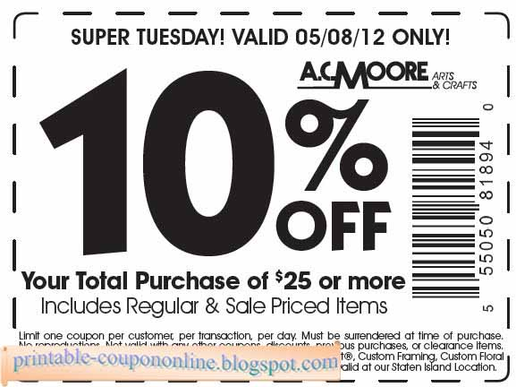 image about Ac Moore Printable Coupon referred to as Ac moore discount codes shipped toward mobile phone - Pillows 2 coupon