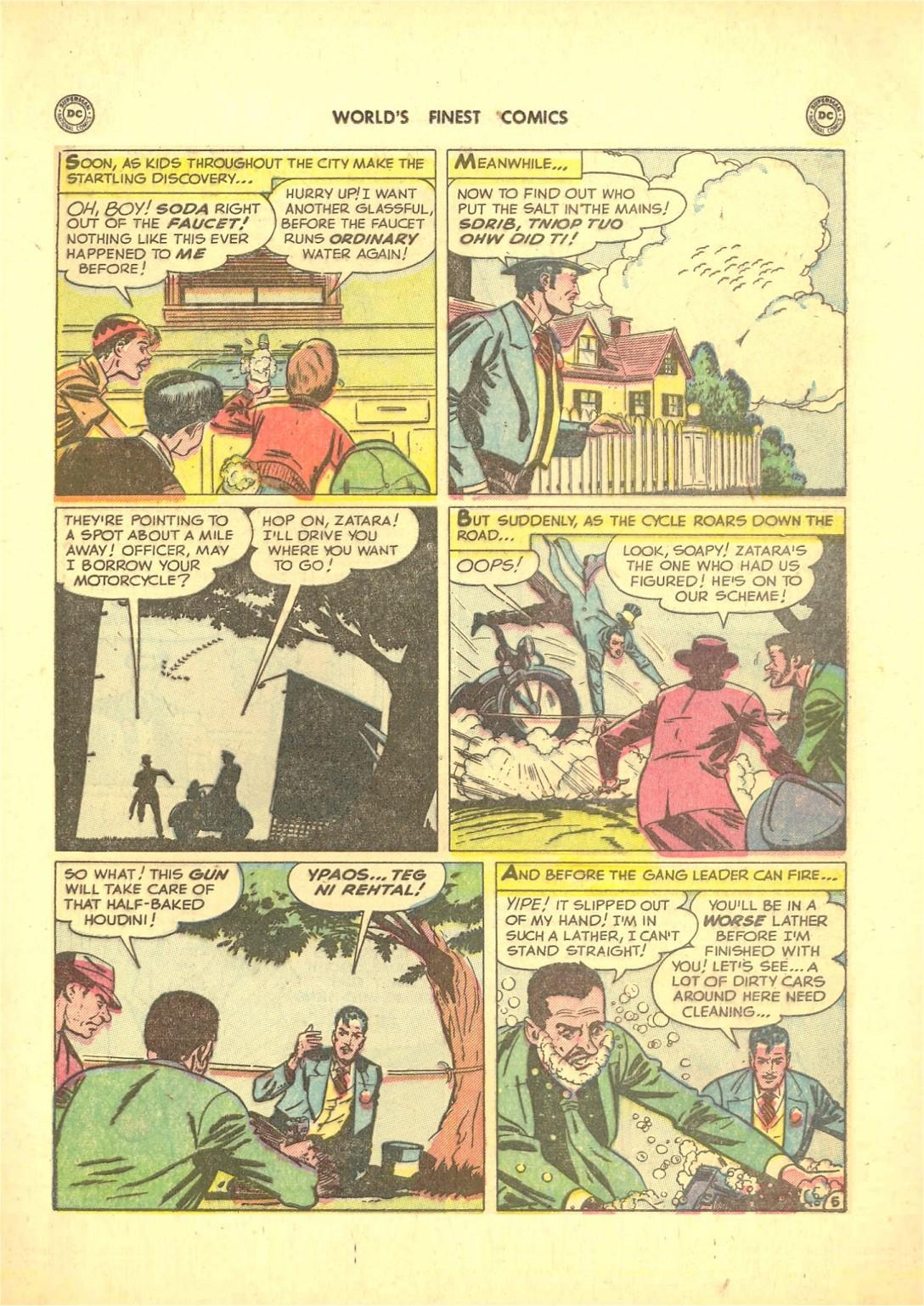Read online World's Finest Comics comic -  Issue #50 - 59