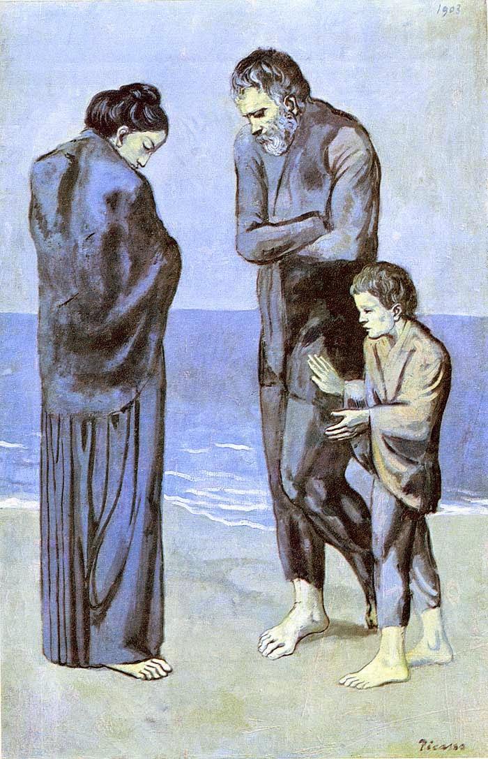 A Tragédia - Picasso e suas pinturas ~ O maior expoente da Arte Moderna