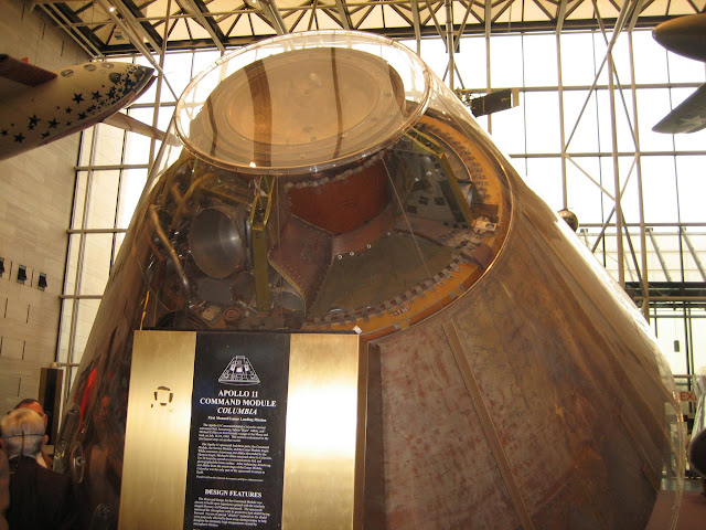 apollo11-command-module-columbia アポロ11号司令船
