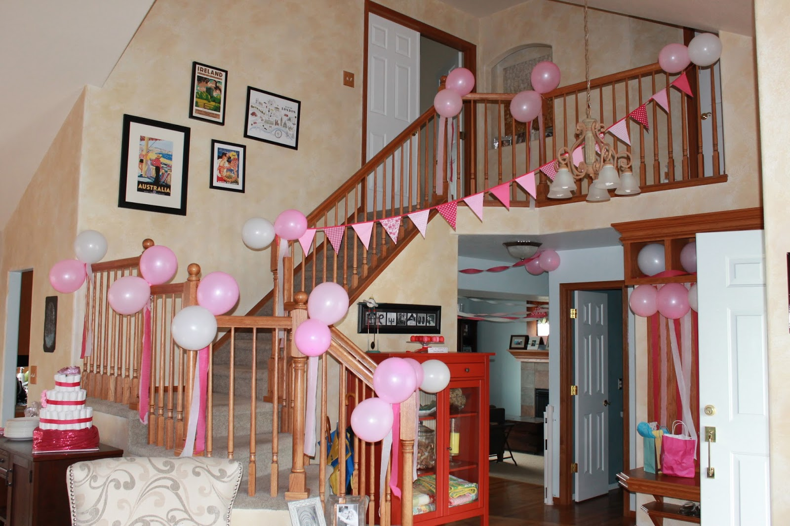Peach Stitches Oh Baby Showers Galore. SaveEnlarge · Welcome Home Decoration Ideas ... & Welcome Home Baby Decoration Ideas - Elitflat