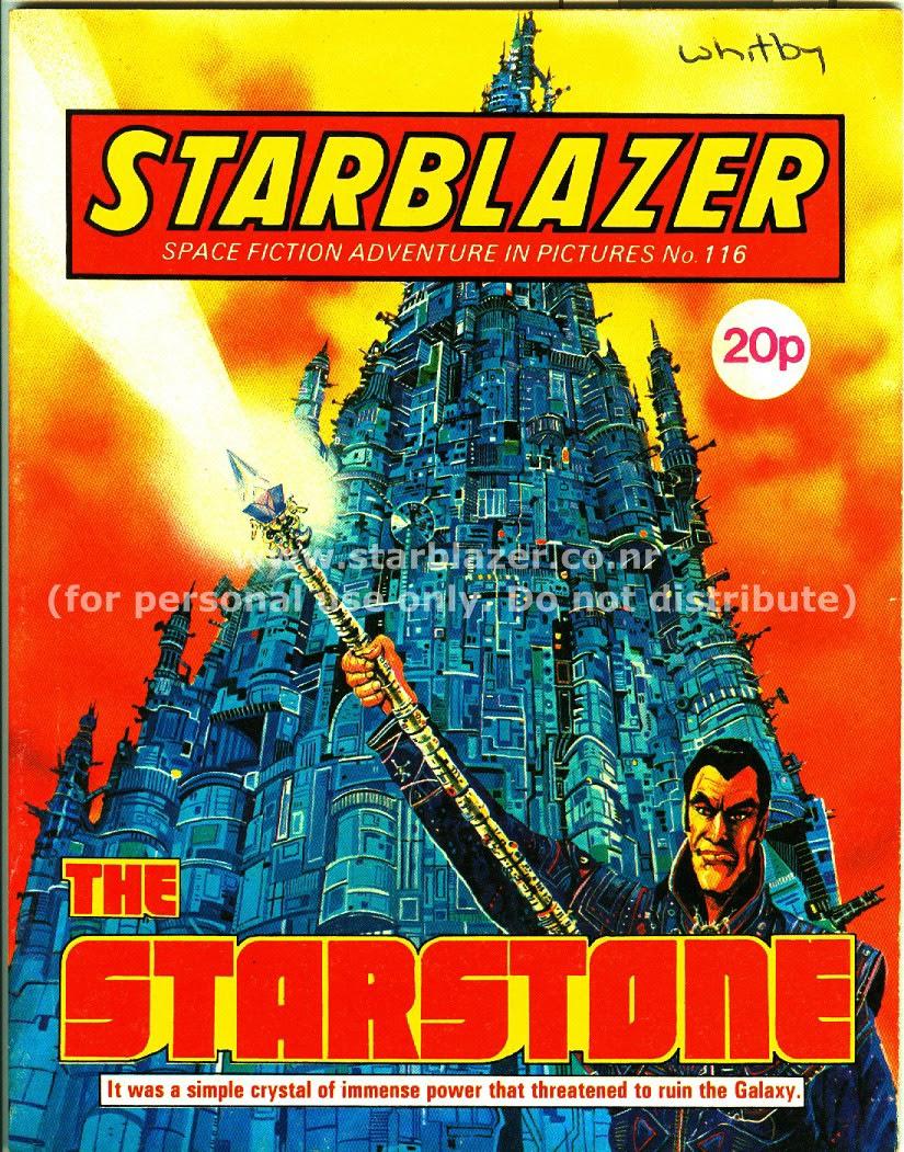 Starblazer issue 116 - Page 1