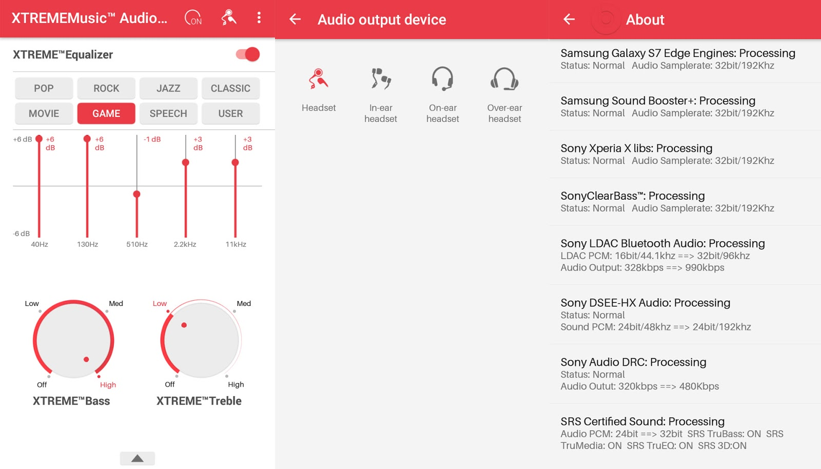 XTREMEMusic For All device : best audio enhancer for android