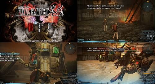 Final Fantasy Type-0 Englsih Patched PSP