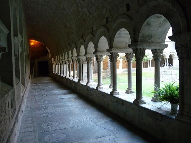 Внутренний дворик Кафедрального собора Жироны