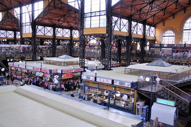 Central Market Hall Kauppahalli Budapest