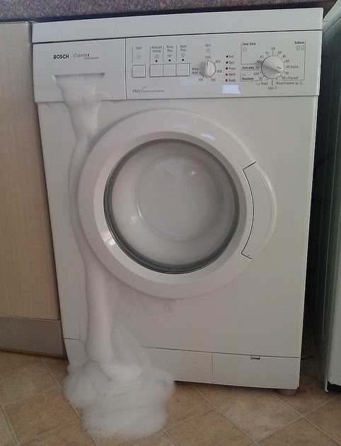 No Stains Foaming In Washing Machines