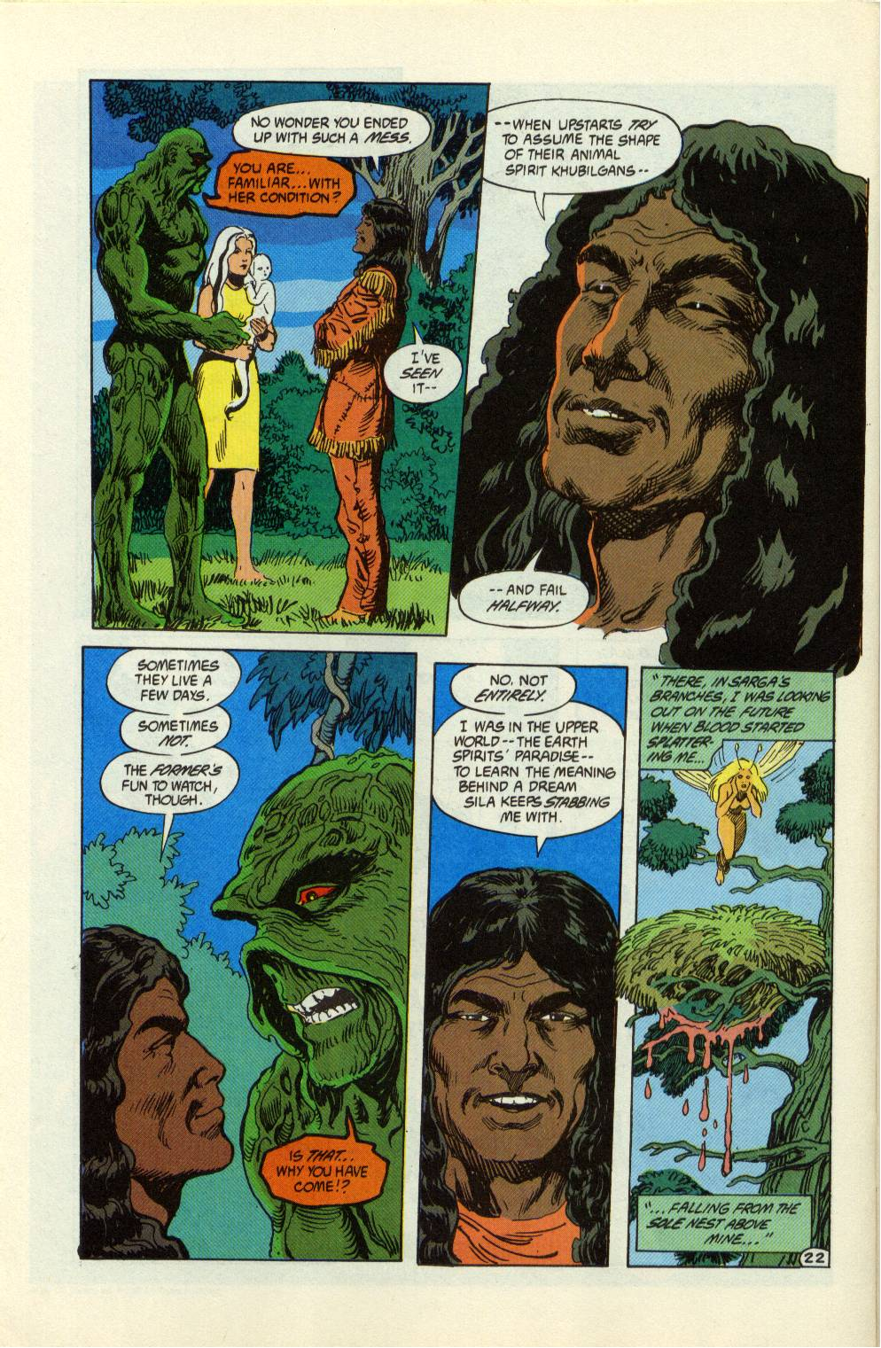 Swamp Thing (1982) Issue #99 #107 - English 23