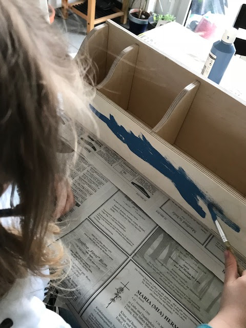 Ordnung im Kinderzimmer - twercs Kinderchaos anmalen