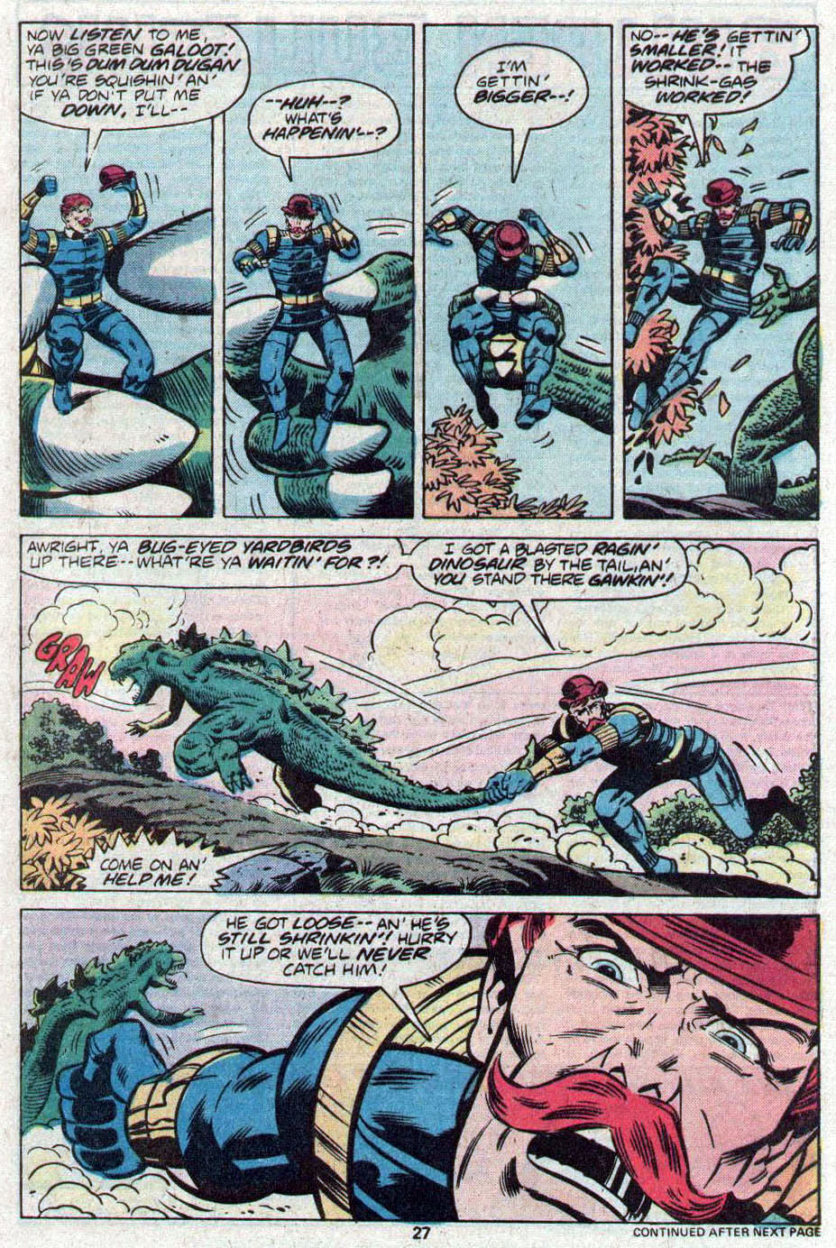 Godzilla (1977) Issue #17 #17 - English 16