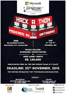 Pragyan Hackathon
