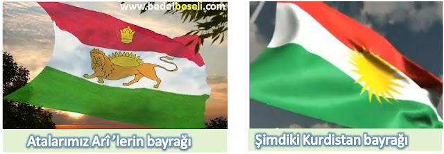 Kürt bayrağının anlamı, tarihi ve kökeni
