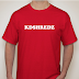 KDSHREDZ RED T-SHIRTS IN!
