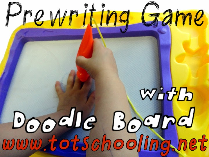 Prewriting Game with Doodle Board