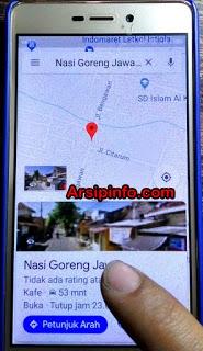 Memilih Tempat Nongkrong Bersama Teman-Teman Dengan Google Maps