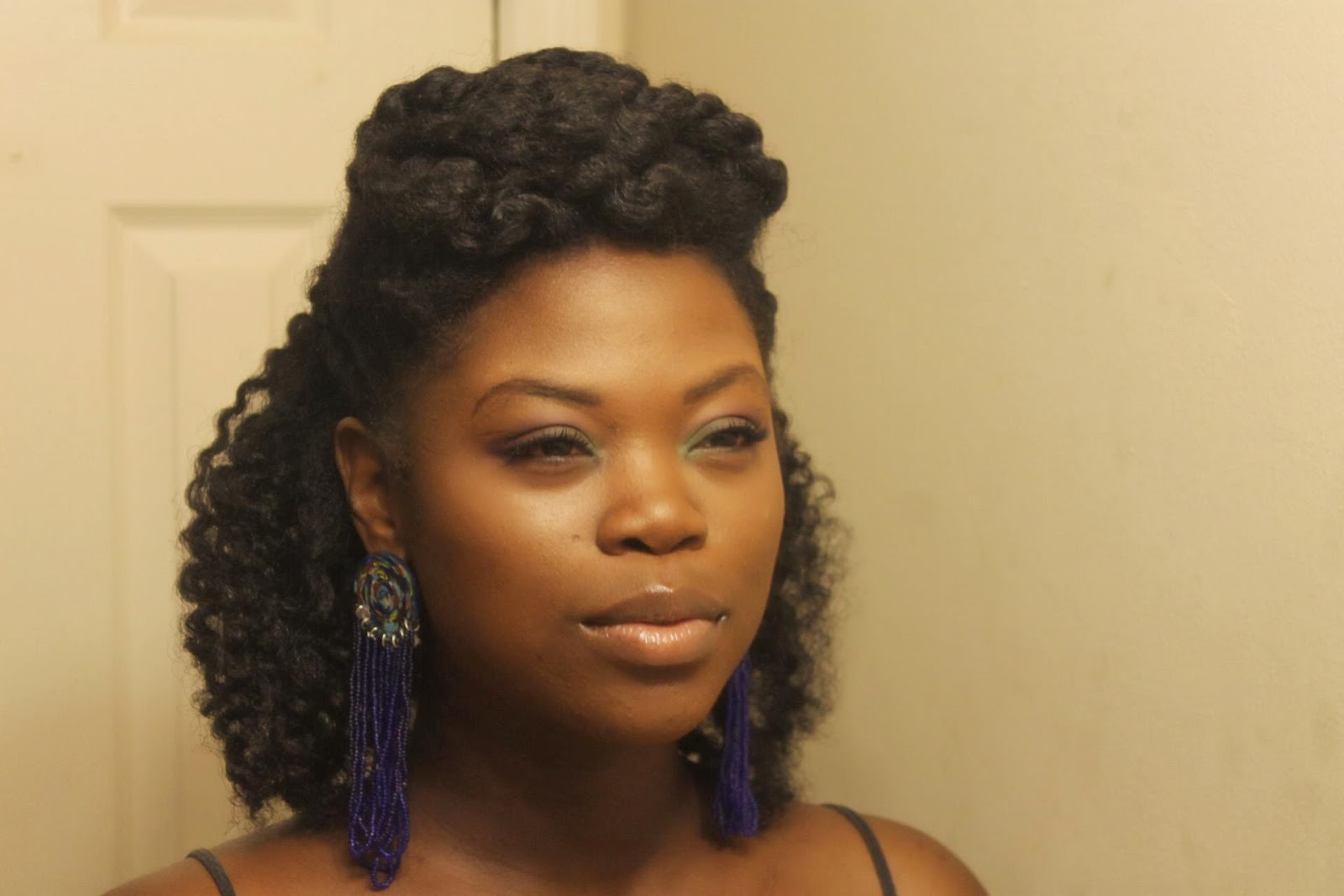 Natural Styles For Black Hair: How To Battle Frizz In Natural Hair