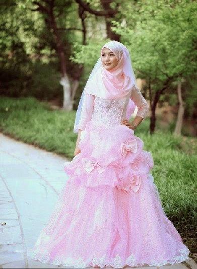 12 Model Hijab Dan Gaun Pernikahan Muslimah Hijab Tutorial 2016