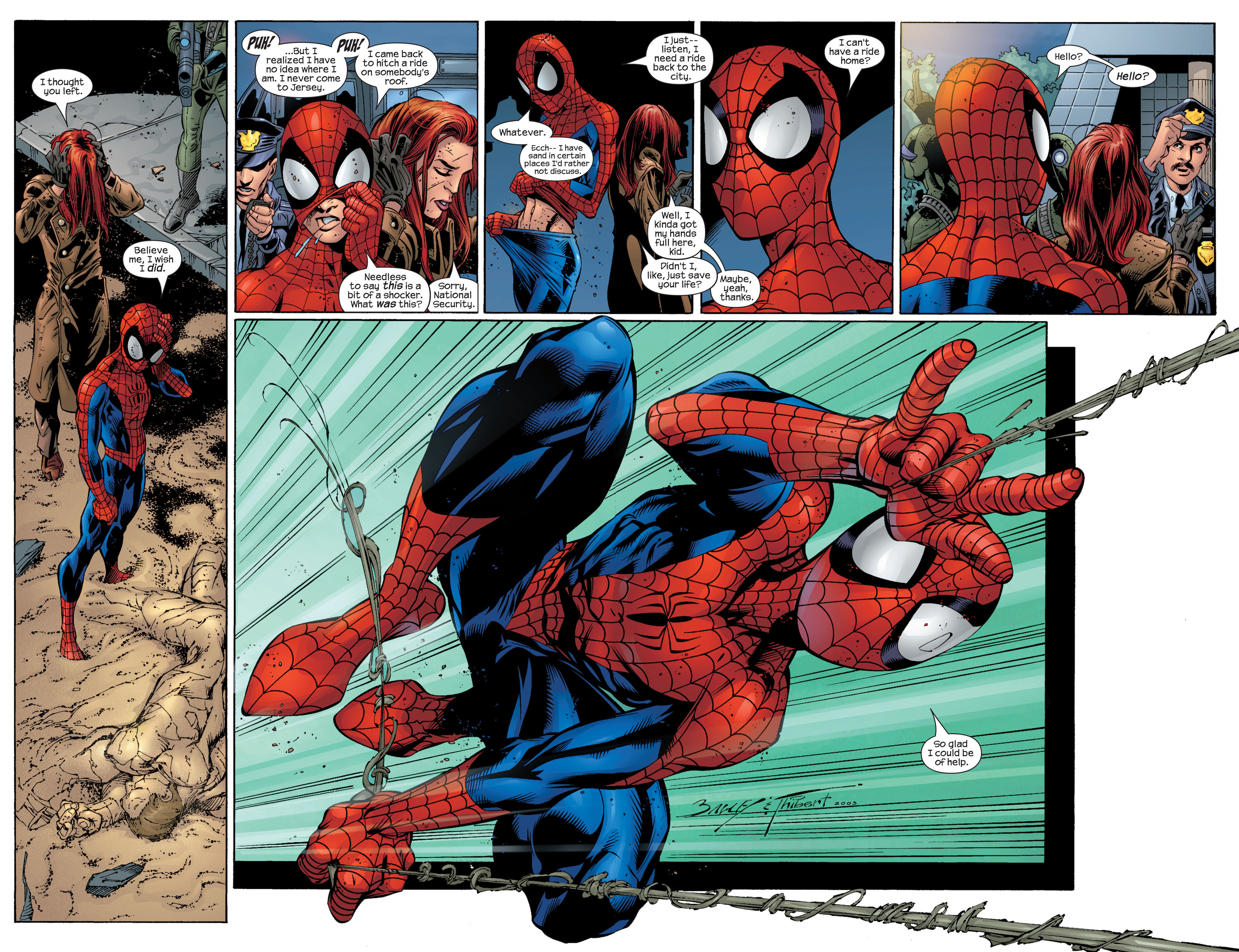 Read online Ultimate Spider-Man (2000) comic -  Issue #46 - 21
