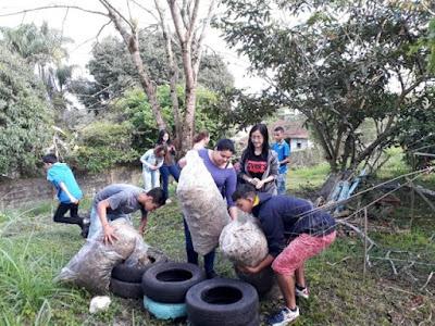 Alunos da Escola Yolanda realizam Oficina por uma Escola Sustentável