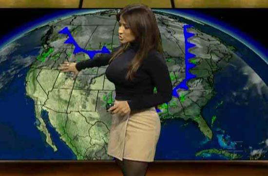hot weather channel female meteorologists