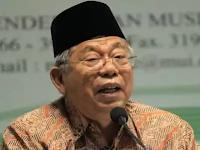 Begini Kata Ketua MUI KH Ma'ruf Amin Jika Ahok yang Menang Pilgub DKI Jakarta