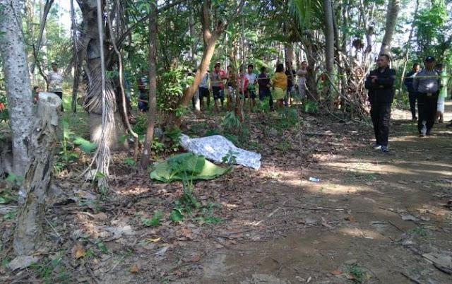 Mayat Wanita Berhijab Ditemukan di Kebun, Diduga Dibunuh