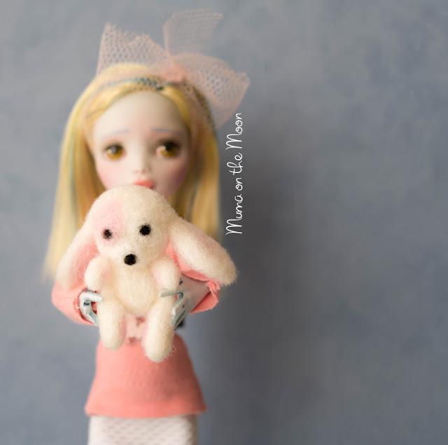 Tutorial mascota en lana afieltrada