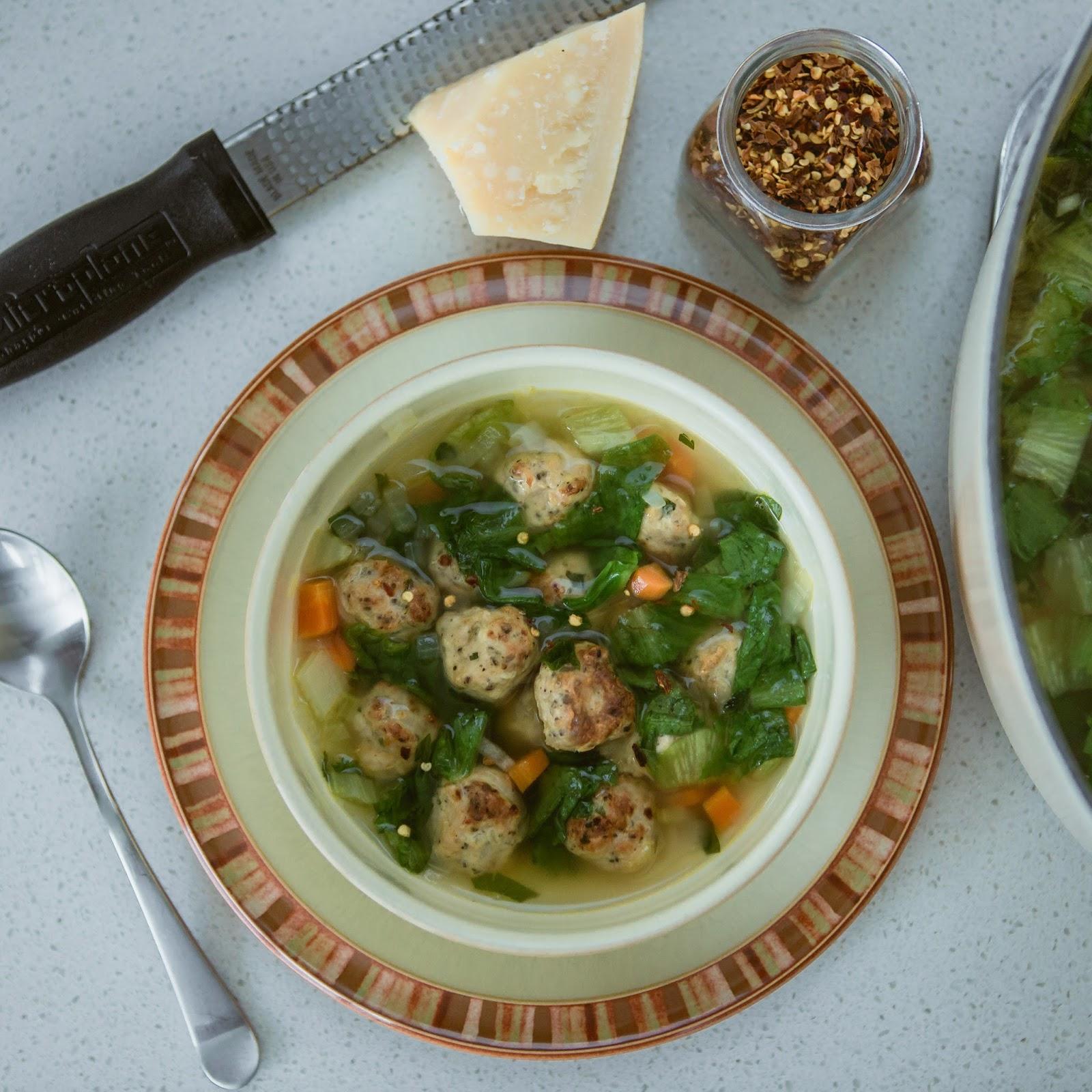 I Is For Italian Wedding Soup
