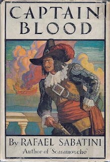 The cover of a 1922 edition of another Sabatini bestseller, Captain Blood