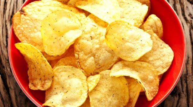Batata Chips de Microondas Sem Nenhuma Gordura (Imagem: Reprodução/Internet)