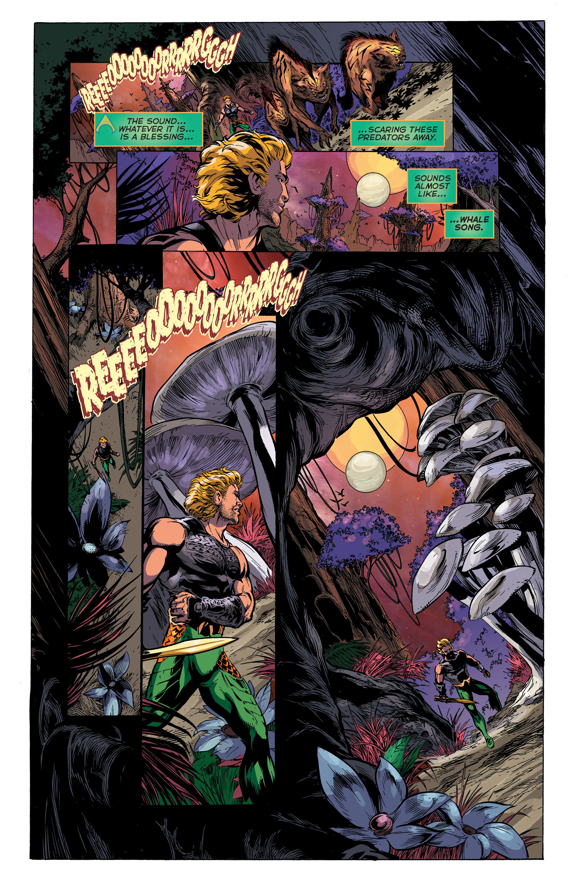 Read online Aquaman (2011) comic -  Issue #45 - 8