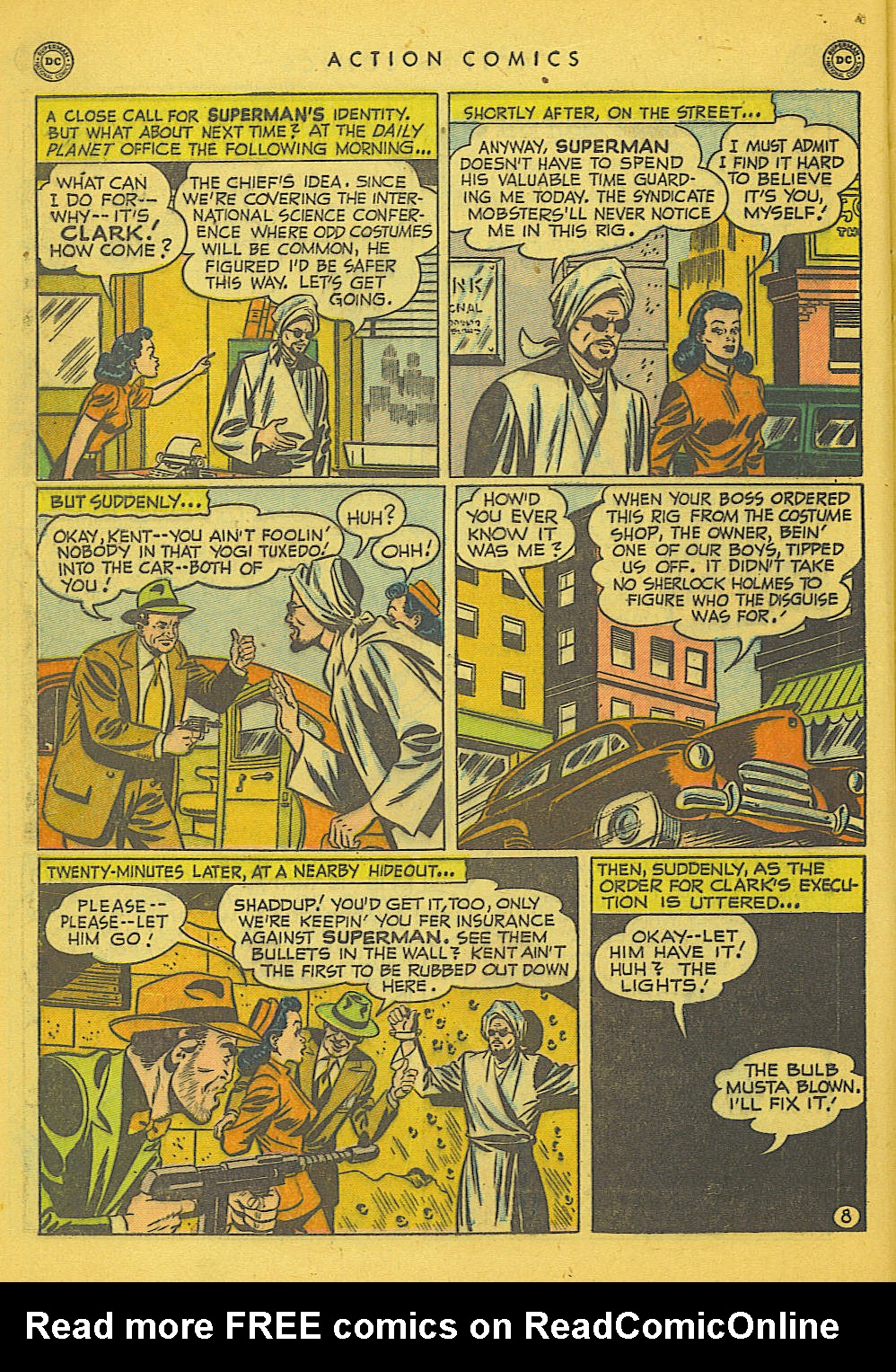 Action Comics (1938) 153 Page 8