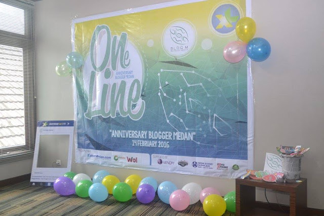 Udah siap buat photo2 donk Anniversary Blogger Medan