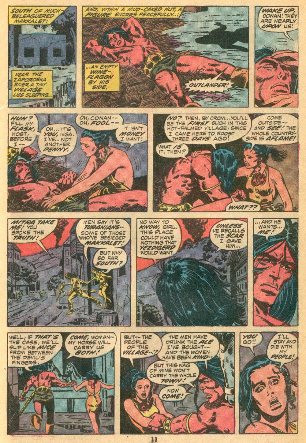 Conan the Barbarian (1970) Issue #23 #35 - English 9