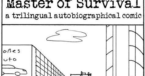 Clairikine Comics: Introducing: Master of Survival