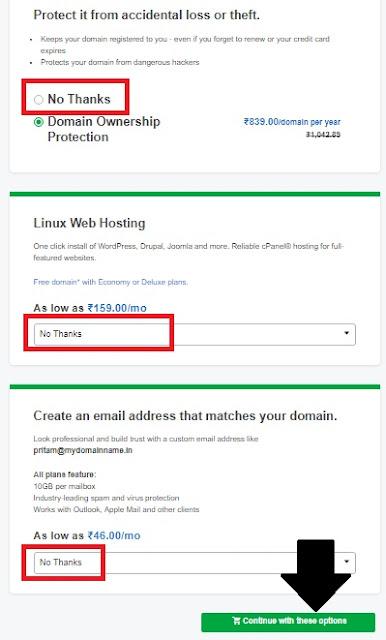 How to buy a Custom Domain from Godaddy.com
