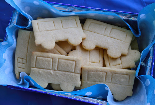 Cookie ideas for a train party.