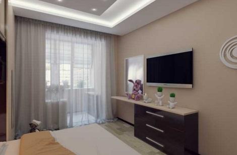 Modern Small Bedroom In Balcony. Small Balcony Bedroom Ideas   My Lovely Home